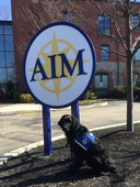 AIM Adopts On-Campus Facility Dog