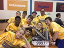4th Place Finish In Field of 30 for FTC Robotics
